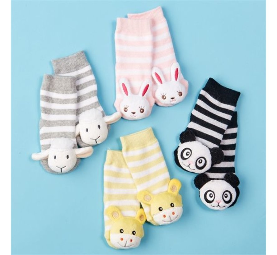Animal Rattle Socks