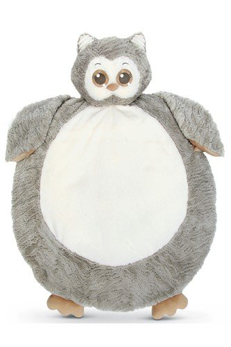 BEARINGTON BABY Lil' Owlie Belly Blanket