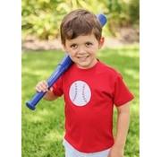 Bailey Boys Baseball Applique Short Set