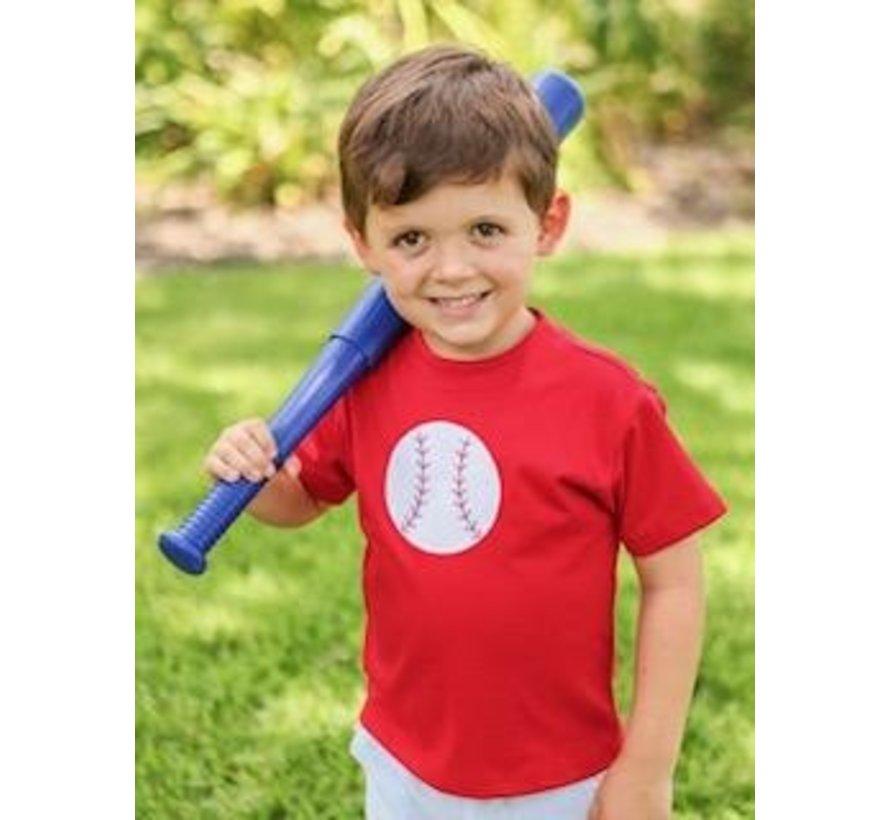Baseball Applique Short Set