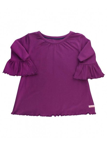 RuffleButts Plum Belle Top