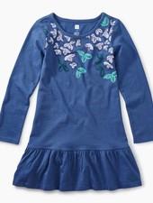 Tea Collection Vibrant Blossoms Ruffle Dress