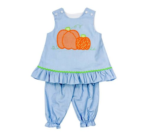 The Bailey Boys, inc Pumpkin Fall Angel Set