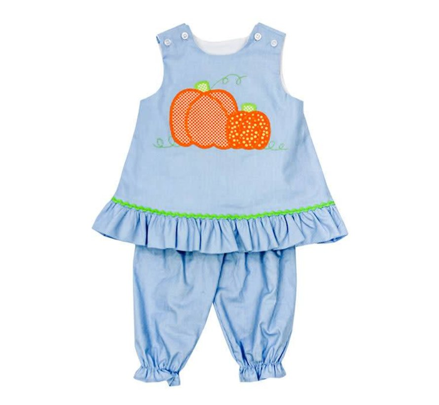 Pumpkin Fall Angel Set