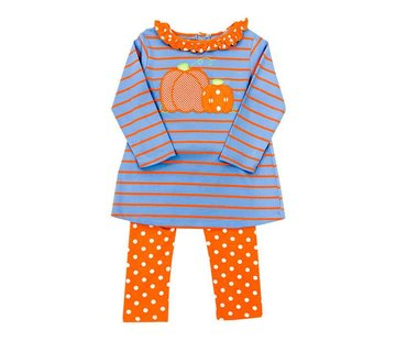 The Bailey Boys, inc Pumpkin Tunic Legging Set