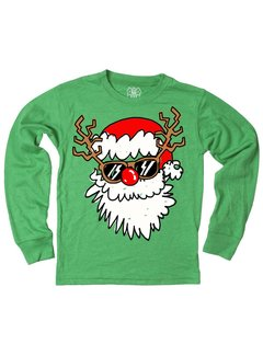 WES & WILLY Santa Disguise Long Sleeve Tee
