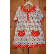 BANANA SPLIT KIDS Dear Santa Yoke Dress with Pockets