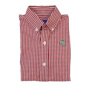 J BAILEY Tobasco Red Check Buttondown Shirt