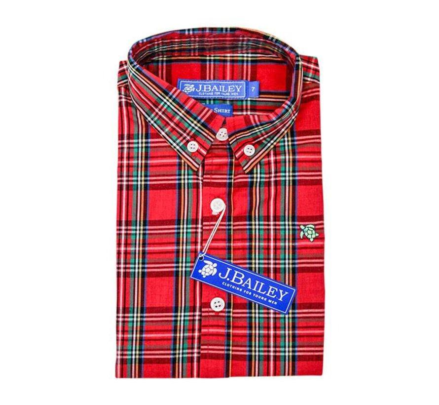 Tartan Plaid Button Down Shirt