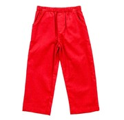 The Bailey Boys, inc Red Corduroy Elastic Pants