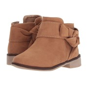 Kids Express Paislee Bow Bootie in Camel