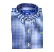 J BAILEY Cadet Blue Check Button Down Shirt