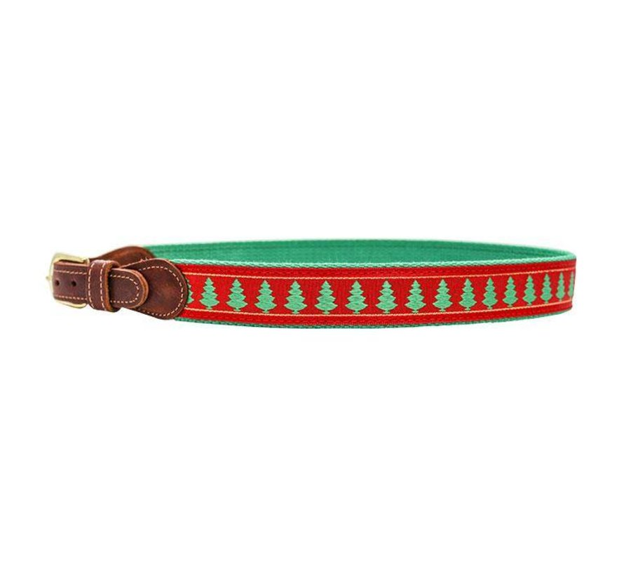Chistmas Tree Embroidered Belt
