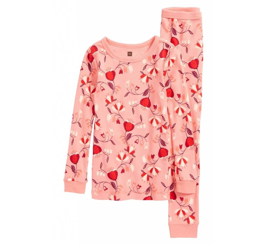 Caer Fitted 2 piece Fitted Pajamas