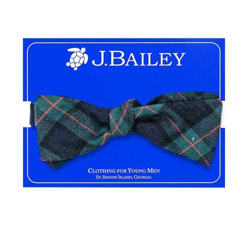 J BAILEY McNeill Plaid Bow Tie