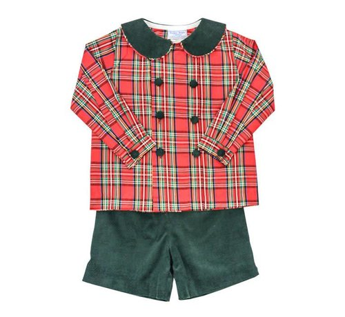 The Bailey Boys, inc Forest Cord Dressy Short Set