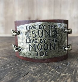 Large Sentiment Live By The Sun Love By The Moon