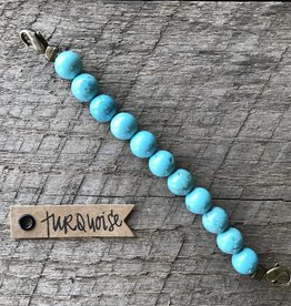 Beaded Link Turquoise
