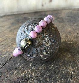 Beaded Bracelet Desert Rose