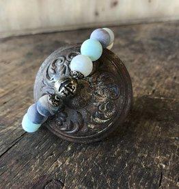 Beaded Bracelet Matte Amazonite