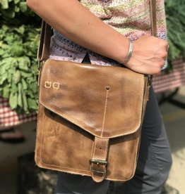 Venice Beach Tan Rustic Satchel