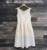 Washed Linen Date Dress