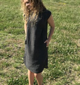 Pretty Washed Linen Dress