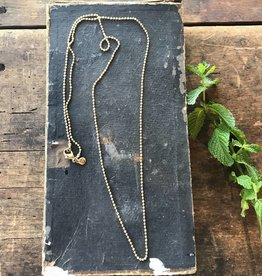 "36"" Antique Gold Ball Chain"