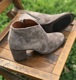 Frye Nora Zip Suede Ankle Boot