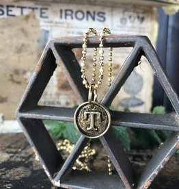 Monogram Pendants T