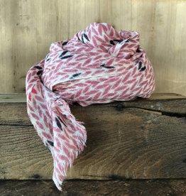 Hemingway scarf Pink