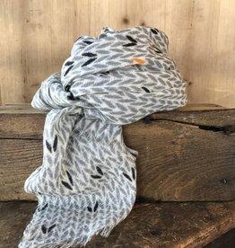 Hemingway scarf Charcoal
