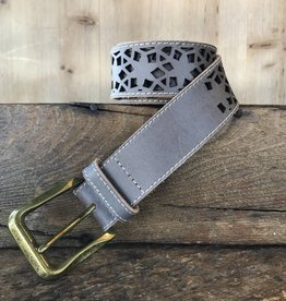 Grey Sand Rustic Belt