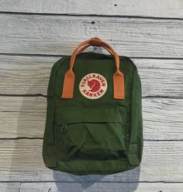 Fjall Raven Kanken Leaf & Burnt Orange Mini