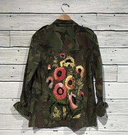 MM Vintage Flower Power Camo Jacket