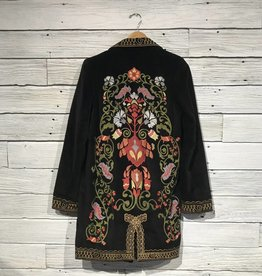 MM Vintage Electric Lady Embroidered Coat