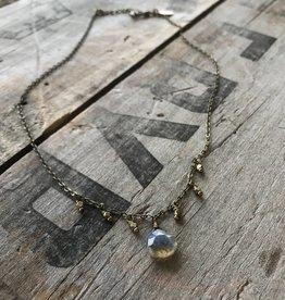 Sprinkle Drop Necklace
