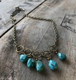 Christina Circle Necklace