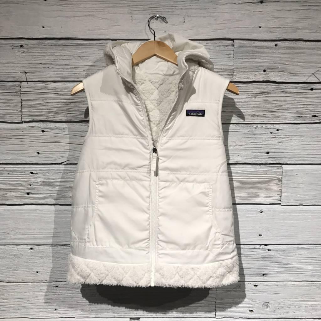 Patagonia Los Gatos Hooded Vest Birch White