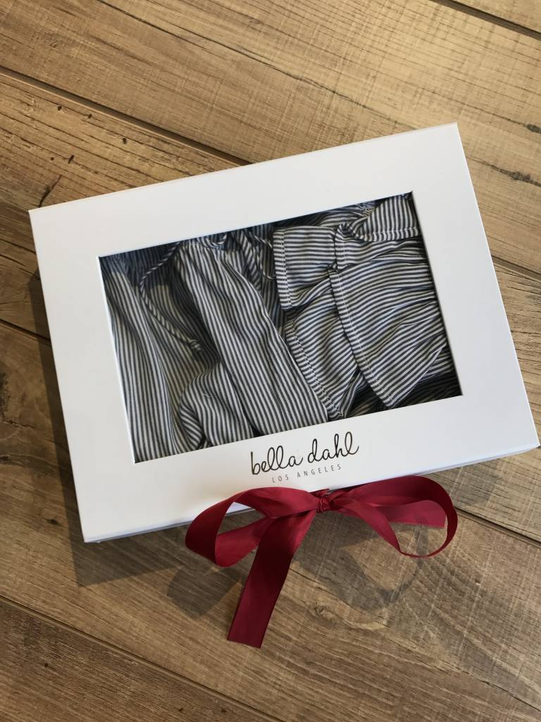 Bella Dahl Ruffle Tank Short PJ Set