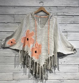 Free People Dream of Daisies Poncho