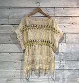 Free People Sundream Pullover ivory combo