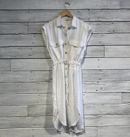 Free People Meet Me Halfway Shirt Dress
