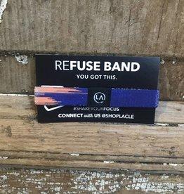 Refuse Refocus Mini Band