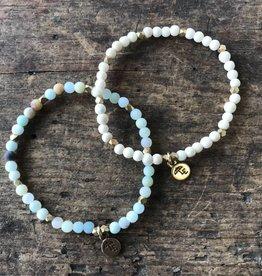Gemstone Bracelet 4mm