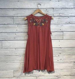 Lucky Charlie Floral Yoke Dress