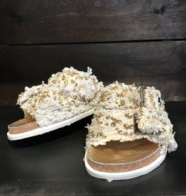 Free People Bali Footbed cream