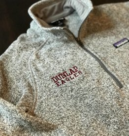 WOMENS Support Dunlap Eagles Patagonia 1/4 zip