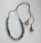Amazonite Lariat Necklace NGZ13658