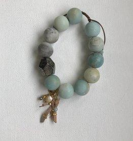 Amazonite adjustable bracelet